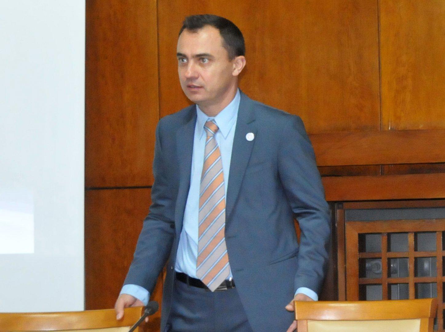 Стефан Колев - председател на тракийско дружество Странджа. Снимка Архив Черноморие-бг