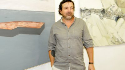 Иво Бистричи е носител на голямата награда за живопис. Снимка Лина Главинова