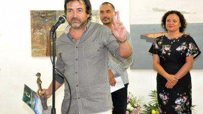 Иво Бистрички получи преди две години голямата награда за живопис. Снимка Архив Черноморие-бг