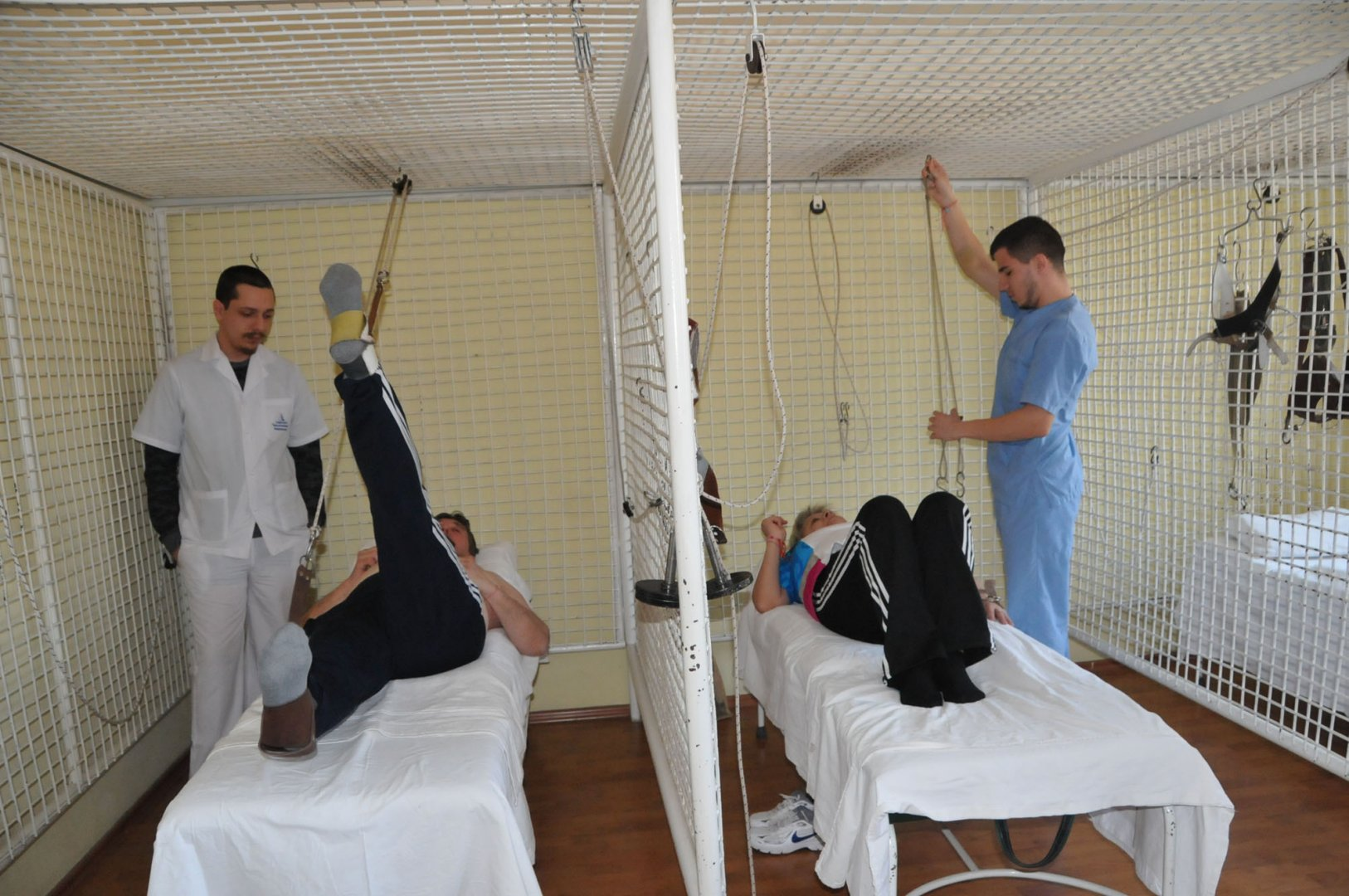Учениците имат и практика в специализирана болница. Снимка Архив Черноморие-бг
