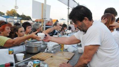 От години в Царево се провежда Рибен фест, на който избират най-добрата чорба. Снимка Архив Черноморие-бг