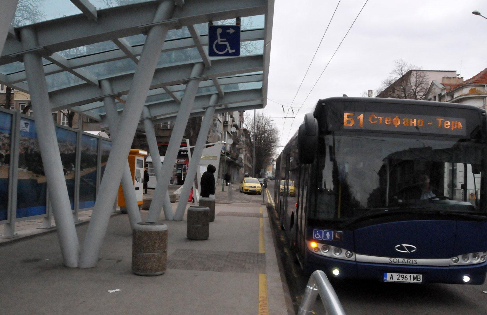 Всички пътници, които са се возили в Б1 след 17.00 часа са били таксувани. Снимка Архив Черноморие-Бг