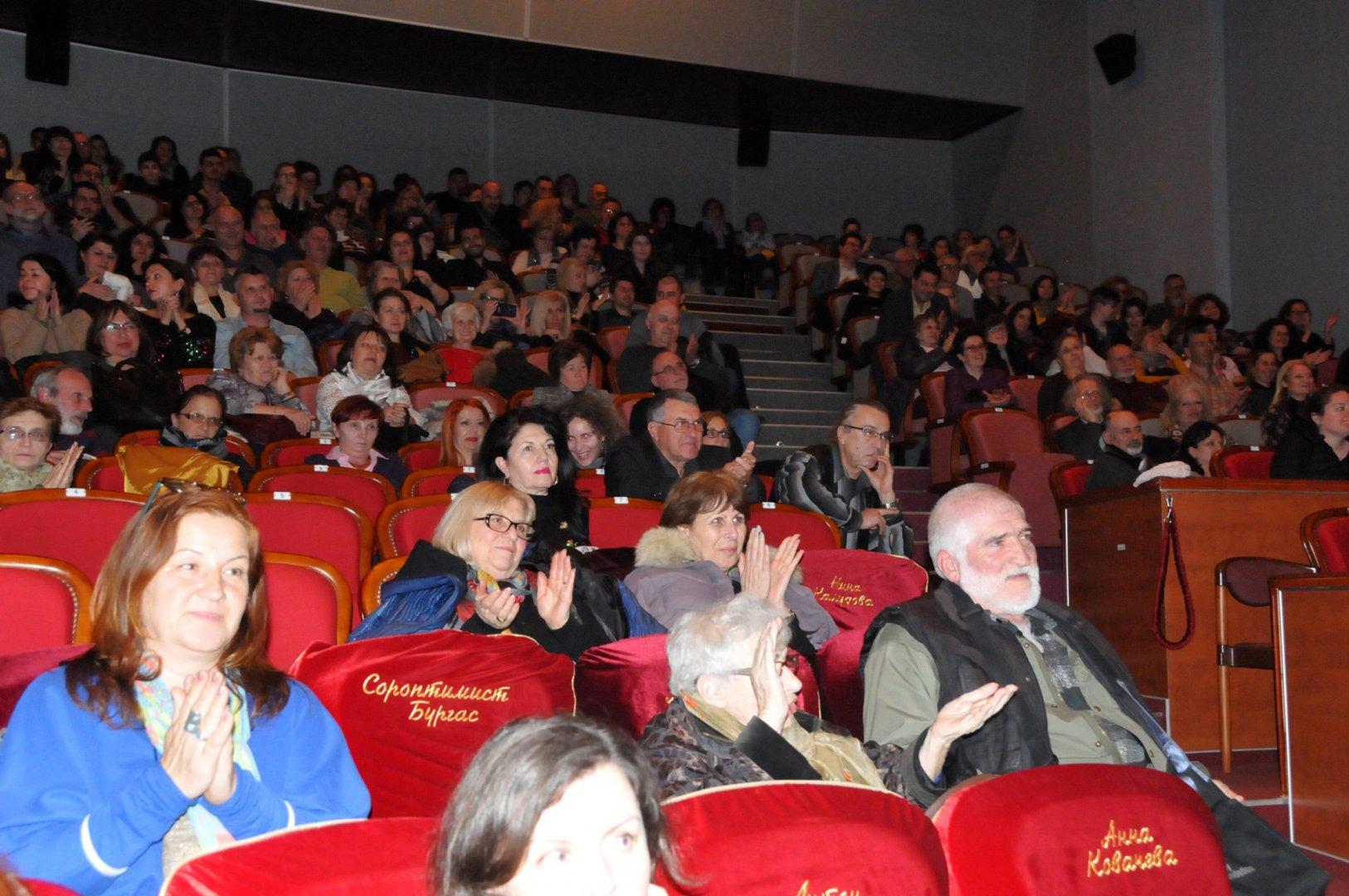Зрителите на фестивала също ще изберат своя филм фаворит. Снимка Архив Черноморие-бг
