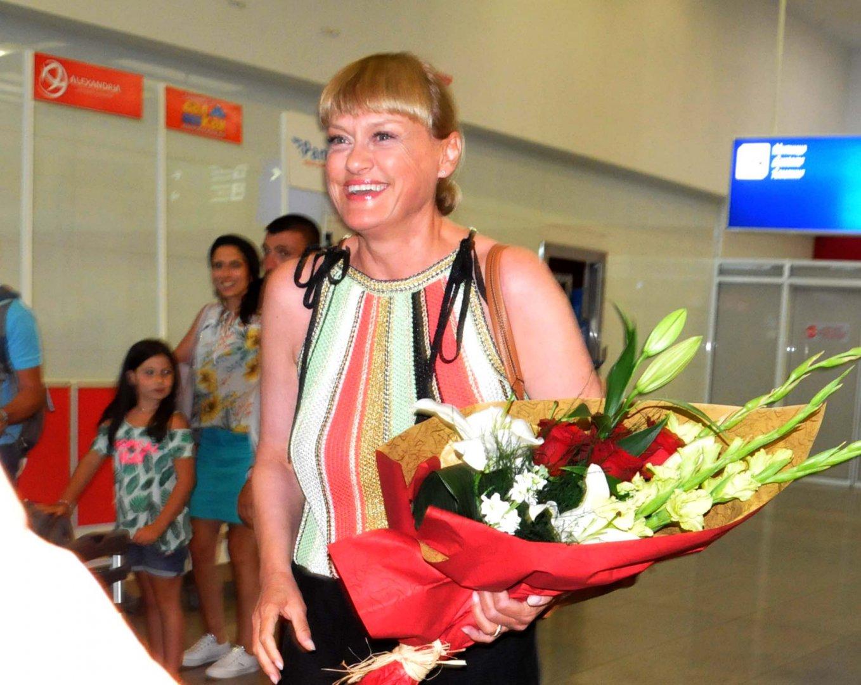 Веселина Кацарова долетя от Цюрих за откриването на Бургаски музикални празници Емил Чакъров. Снимки Лина Главинова