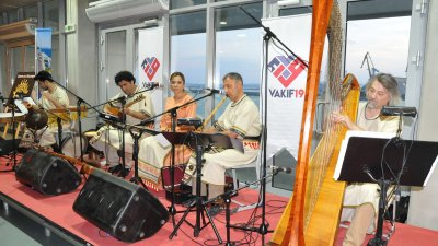 Хетски ансамбъл изпълни музика на живо. Снимки Лина Главинова