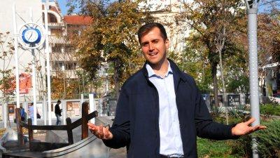 Стоян Коларов е първи мандат общински съветник от БСП за България. Снимка Лина Главинова