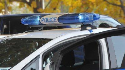Полицаите задържаха шофьора за срок от 24 часа. Снимка Лина Главинова