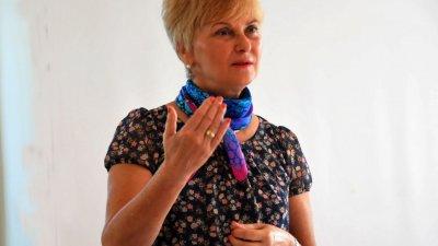 Проектът ще се изпълнява в партньорство с ПГТ, каза Виолета Илиева. Снимка Лина Главинова