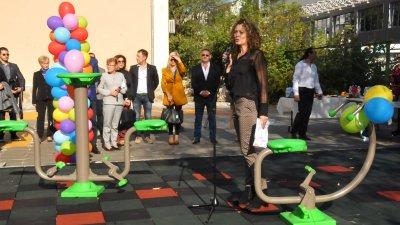 Площадката бе официално открита днес. Снимки Лина Главинова