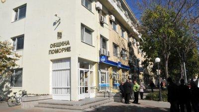 ОбС на Поморие заседава в сградата на Общината. Снимка Архив Черноморие-бг