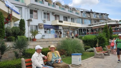 Свети Влас е предпочитано място за почивка от руски и български туристи. Снимка Лина Главинова