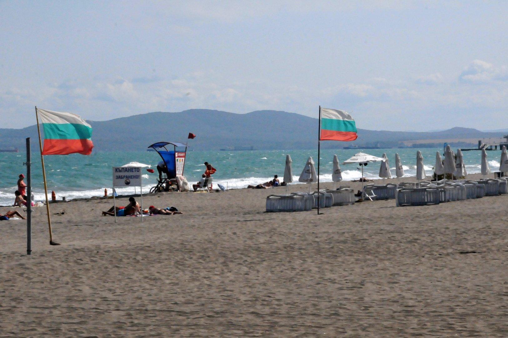 Времето по Черноморието предразполага за есенен плаж. Снимка Архив Черноморие-бг