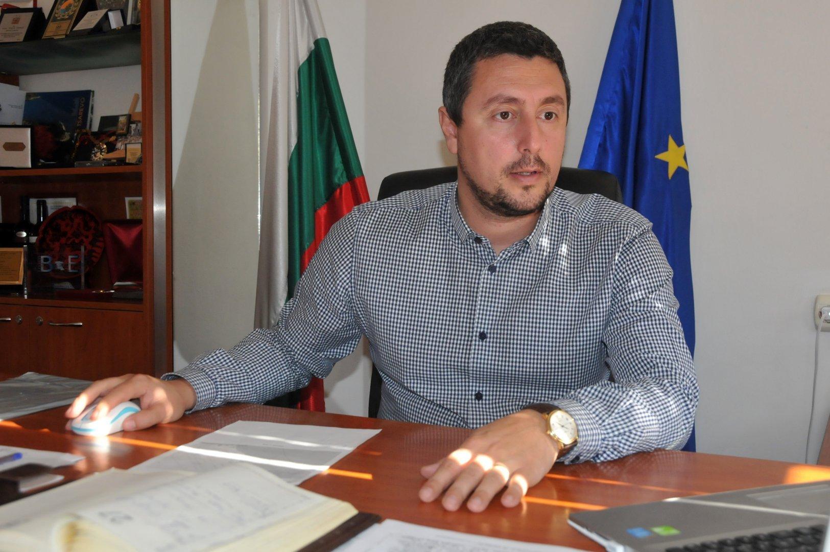 Все още нямам отговор от министъра във връзка с моето писмо, каза кметът на Царево Георги Лапчев. Снимка Архив Черноморие-БГ