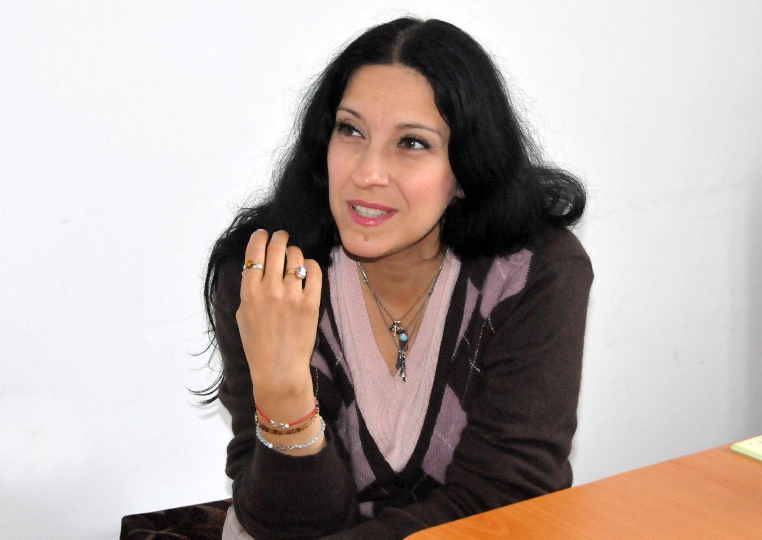 Мирослава Коларова ще представи поетичната си книга на 28-ми ноември. Снимка Лина Главинова
