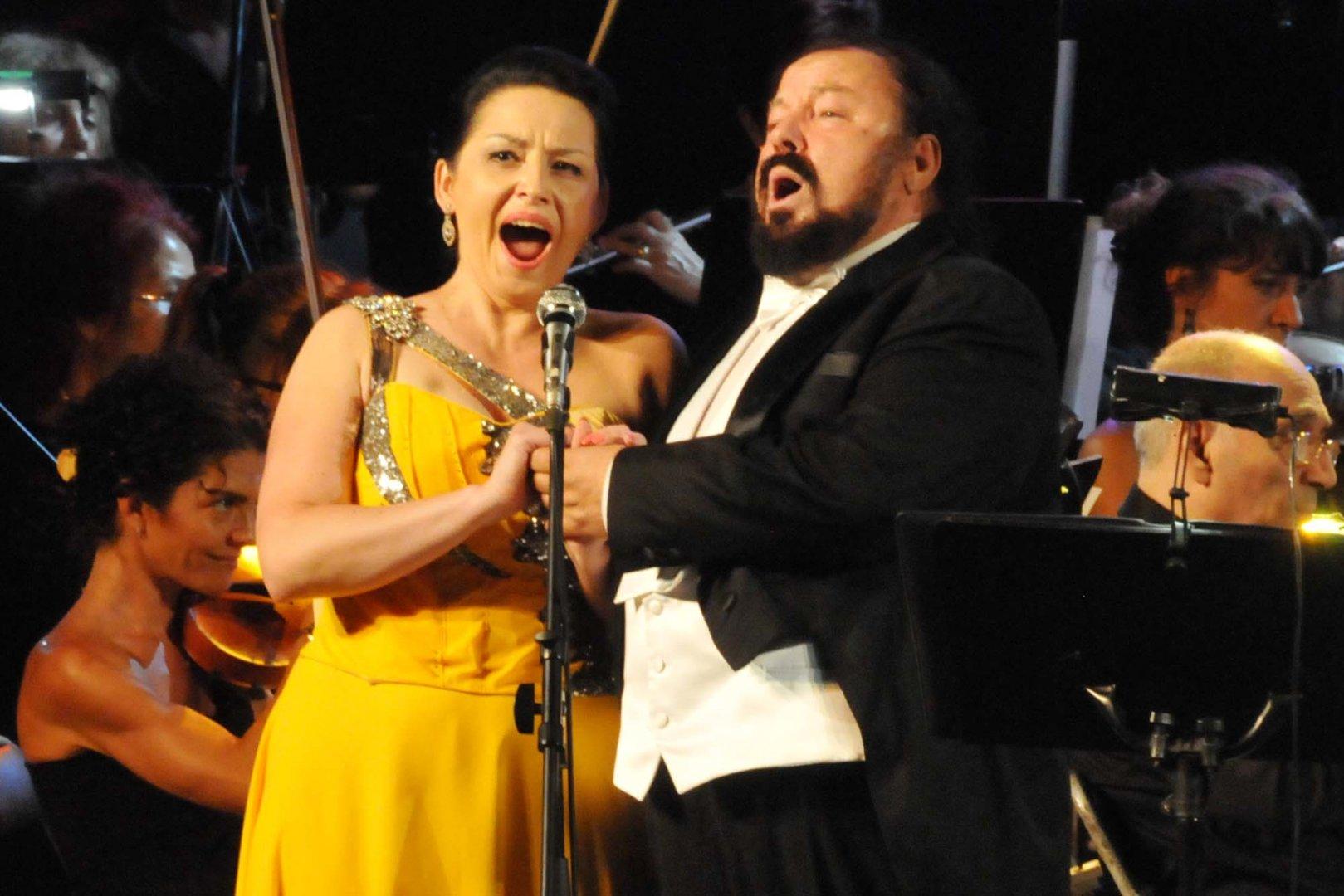 Семейство Анна и Калуди Калудови участваха в концерта Веселина Кацарова и приятели. Снимки Лина Главинова