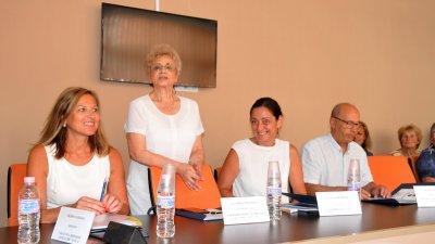 Видка Вълчева (втората отляво надясно) е ръководител на проекта от българска страна. Снимки Лина Главинова