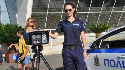 Ще бъде направена демонстрация как се установяват нарушителите на пътя. Снимка Архив Черноморие-бг