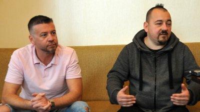 Засега сме предвидили 1500 седящи места, каза Тодоров (вдясно). Снимка Лина Главинова