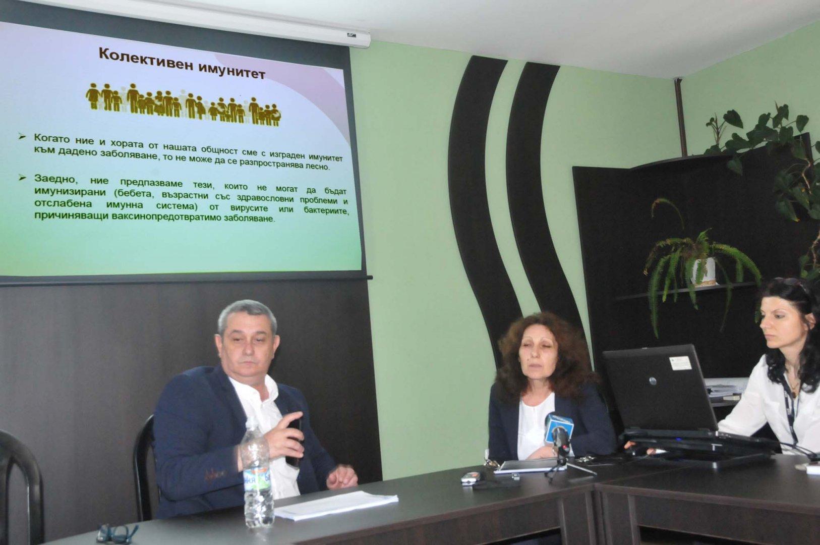 """Според данните на РЗИ, над90 % от случаите на хепатит """"Б"""", които са установени в региона са на хора родени преди 1992 г. Снимка Лина Главинова"""