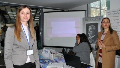 СУ Иван Вазов представя иновативната си паралелка за рехабилитатори. Снимки Лина Главинова