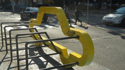 Новите пътни инсталации са поставени на няколко места в центъра на Бургас. Снимки Черноморие.бг