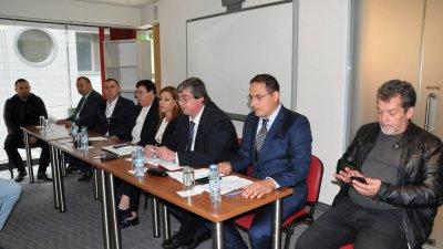 Коалцицията е единствената местна, регистрирана за местните избори в Бургас. Снимки Лина Главинова