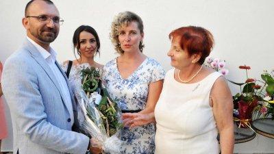 Областният управител Вълчо Чолаков изненада приятно екипа на Черноморие. Снимки Лина Главинова