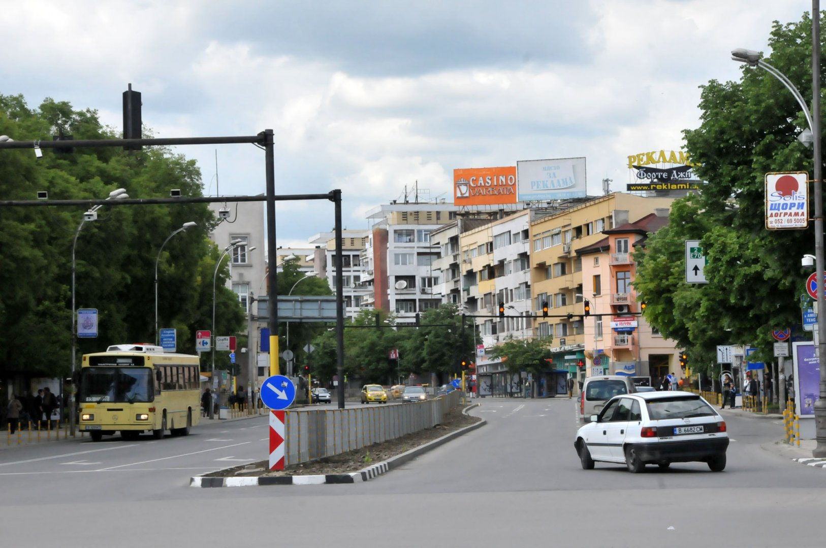 Синята зона във Варна функционира от 11-и юли. Снимка Архив Черноморие-БГ