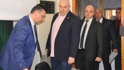 Зам.-главният прокурор Иван Гешев и главният секретар на МВР Ивайло Иванов разкриха подробности около убийството. Снимки Лина Главинова