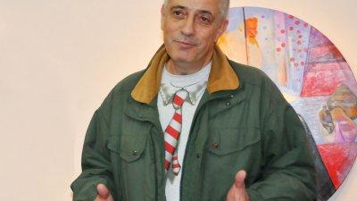 Владимир Пенев за вторъ път гостува в галерия Бургас. Снимки Лина Главинова