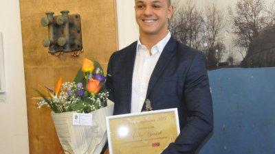 Цанко Цанков стана носител на отличието тази година. Снимки Лина Главинова