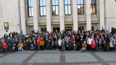 Снимката с имениците тази година ще бъде колаж от снимките на всички, които ще ги изпратят до Общината. Снимка Архив Черноморие-бг