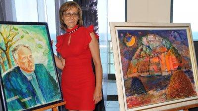 Елица Гигова ще гостува в галерия Бургас през януари 2020 година в галерия Бургас. Снимка Лина Главинова