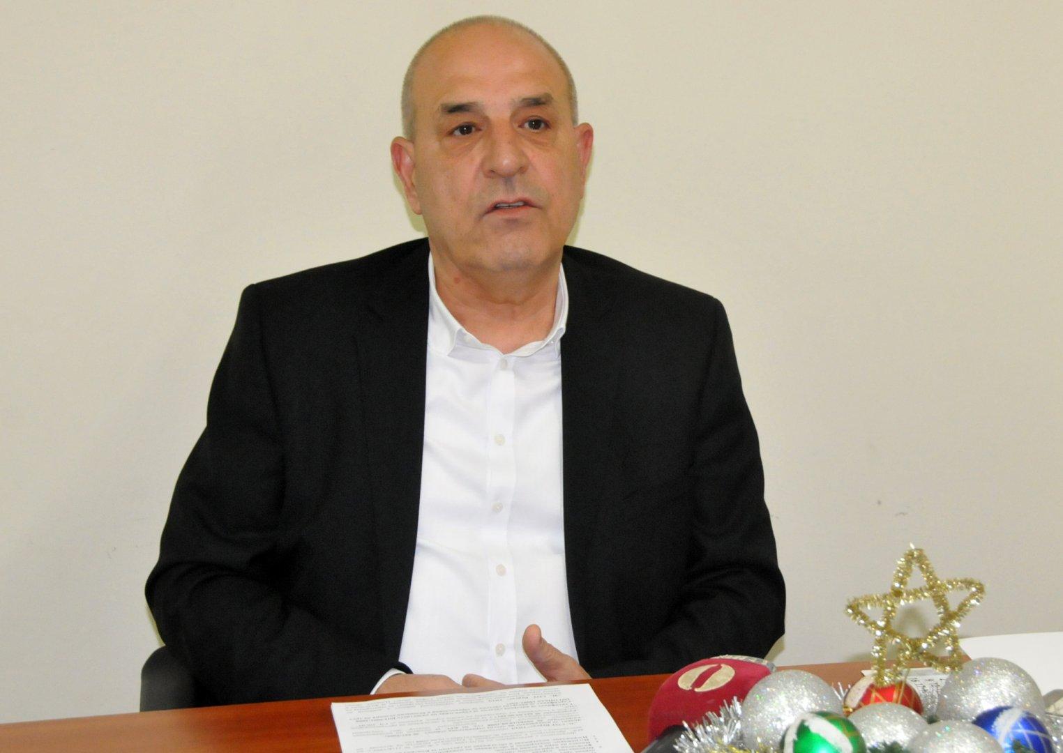 Нашата фирма и лидер на пазара в региона, каза управителят на 3С СОТ Бургас Петко Иванов. Снимка Лина Главинова