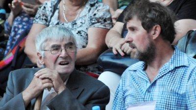 Ради Кисьов и синът му Даниел бяха сред гостите на празника на Созопол. Снимки Лина Главинова