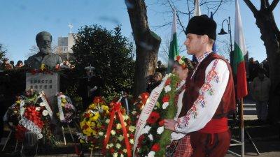 Бургазлии отбелязаха на 6-и януари 170 години от рождението на поета-революционер Христо Ботев. Снимка Лина Главинова