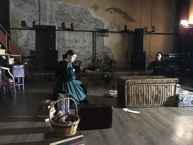 Премиерата е на 26-ти ноември в клуб Модере театър. Снимки Танц БГ