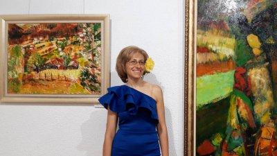 Елица Гигова ще открие изложба, посветена на 100 години от рождението на писателя Николай Хайтов. Снимка Личен архив