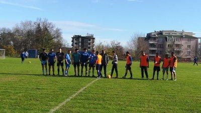 Турнирът за купата на кмета се проведе на стадиона в Царево