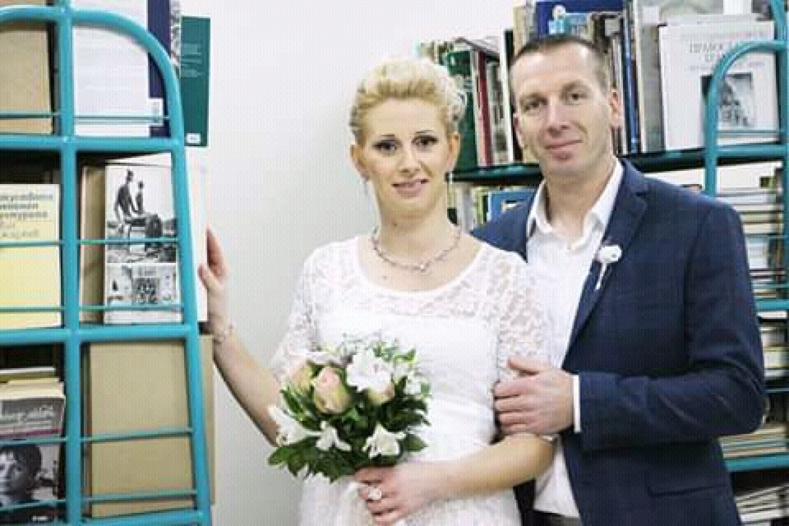 Вероника и Живко Вълчеви сключиха брак навръх Рождество Христово