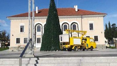 Светлините на елхата ще бъдат включени тази вечер. Снимки Община Царево