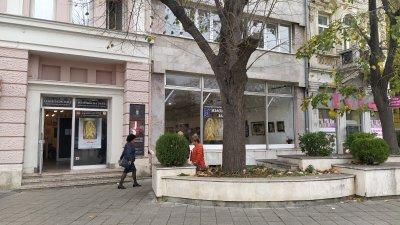 Ще бъде обновено цялото пространство пред залата на улица Александровска. Снимки Авторът