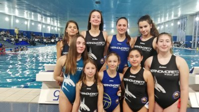 Момичетата на Черноморец защитиха първото си място. Снимка Черноморец