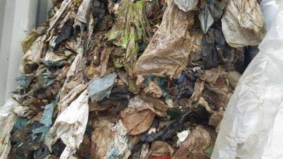 Има разминаване между декларирания и открития боклук в контейнерите. Снимки Апелативна прокуратура и Лина Главинова