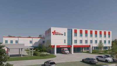 Така изглежда идейният проект на новия Медицински център в Царево