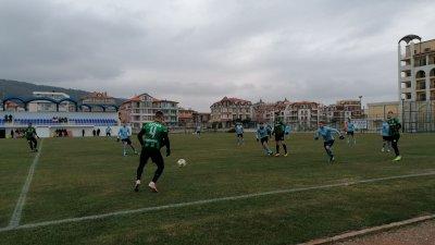 Бургазлии спечелиха срещата с резултат 2:1. Снимка ПФК Нефтохимик