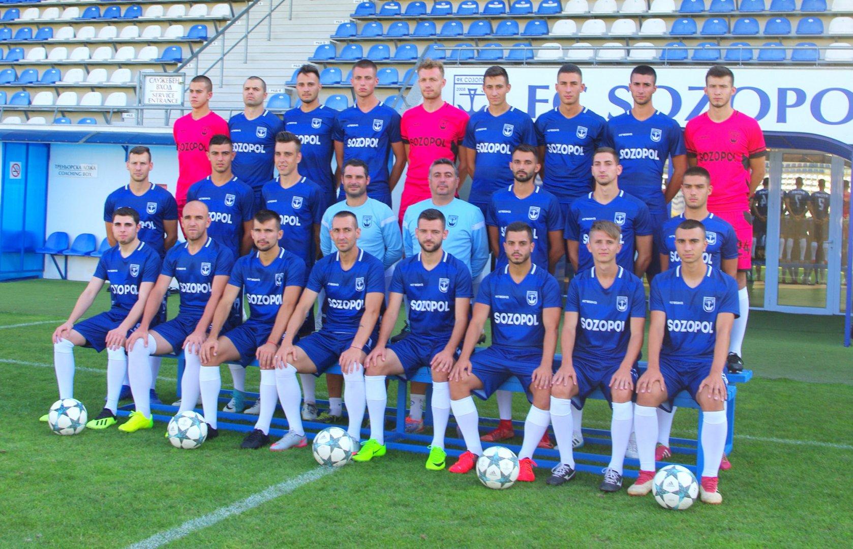 Отборът на Созопол ще бъде подсилен с нови футболисти