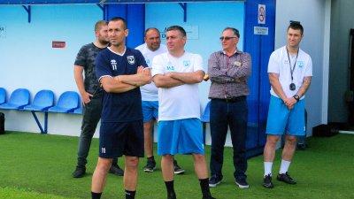 Преди началото на подготовката бяха направени тестове за COVID - 19 на състезателите. Снимки ФК Созопол