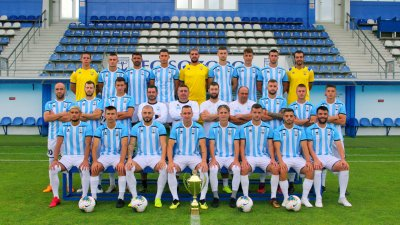 Небесносините, водени от Маргарит Димов, ще търсят първи успех за сезона пред своя публика. Снимка ФК Созопол