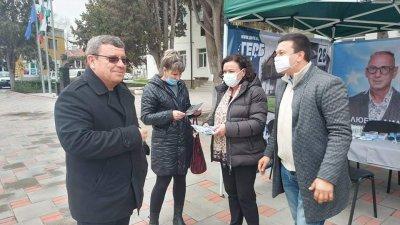 Ивелина Василева се срещна с жители на Камено